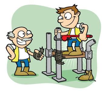 HealthandSafety_Workmen_Scaffold01_Green_scaffold_inspection_training