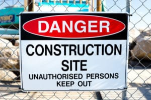 Construction safety advice